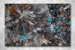 Hemimorphit - Rosatit, Fundort Laurion GriechenlandStack, Abbildungssmassstab 10:1, Schrittweite 0,0094mm, 118 Schritte zu 3 Aufnahmen, Bildbreite 2,37mm, Mikroskopobjektiv Nikon M Plan 10X